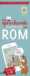 Die sprechende Stradtkarte von Rom. Con app - Paola De Paolis - copertina