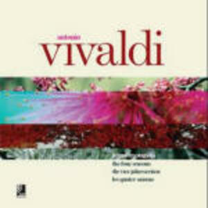 Vivaldi. The four seasons. Con 4 CD Audio - copertina
