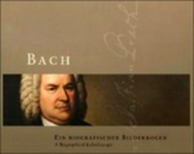 Bach. Ein biografischer Bilderbogen. Con 4 CD Audio - Detmar Huchting - copertina