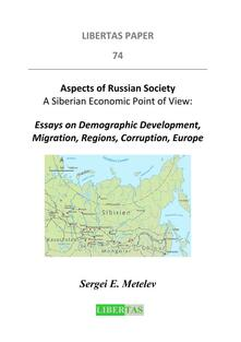 Aspects of Russian Society - A Siberian Economic Point of View
