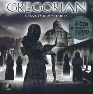 Gregorian. Chants and mysteries. Con 4 CD Audio. Con DVD - copertina
