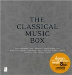 The classical music box. Ediz. inglese e tedesca. Con 8 CD Audio - copertina