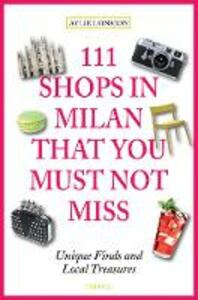 111 shops in Milan that you must not miss - Aylie Lonmon - copertina