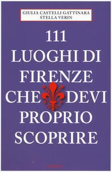 Daddyswing.es 111 luoghi di Firenze che devi proprio scoprire Image