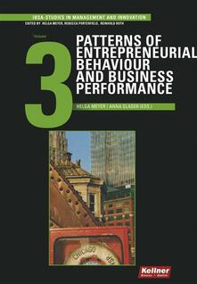 Patterns of Entrepreneurial Behaviour and Business Performance