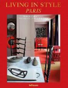 Living in Style Paris - Caroline Sarkozy - cover