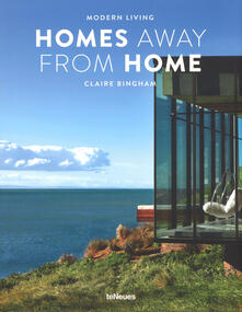 Modern Living - Homes Away from Home - Claire Bingham - cover