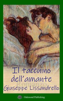 Il taccuino dell'amante - Giuseppe Lissandrello - copertina