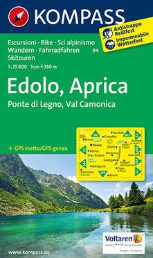 Winniearcher.com Carta escursionistica n. 94. Edolo, Aprica 1:35.000 Image