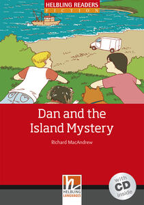 Dan and the Island Mystery. Livello 3 (A2). Con CD-Audio - Richard MacAndrew - copertina