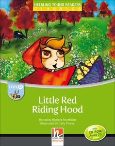 Little Red Riding Hood. Level B. Young readers. Con CD-Audio - Richard Northcott - copertina