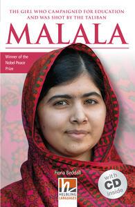 Malala. Livello 2 (A1-A2). Con CD-Audio - copertina