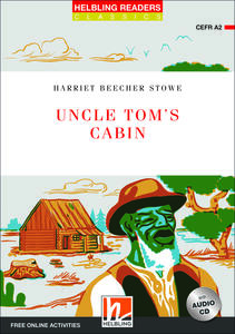 Uncle Tom's cabin. Readers red series. Adattato da Donatella Velluti. Con CD Audio. Con espansione online: Level A2 - Harriet Beecher Stowe - copertina