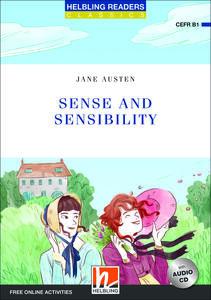Sense and sensibility. Readers blue series. Adattato da Elspeth Rawstron. Con CD Audio: Level B1. Con espansione online