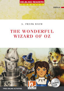 Listadelpopolo.it The wonderful wizard of Oz. Readers red series. Con CD-Audio Image