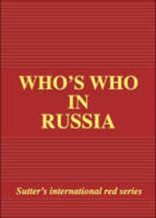 Fondazionesergioperlamusica.it Who's who in Russia 2003 Image