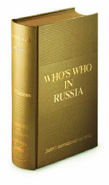 Listadelpopolo.it Who's who in Russia 2008 edition Image
