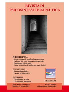 Rivista di psicosintesi terapeutica. Vol. 27 - Alberto Alberti,Anna Maria Cavaciocchi,Donella Bramanti,Elisabetta Percario - ebook