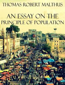 Anessay on the principle of population