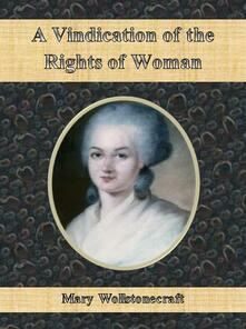 Avindication of the rights of woman