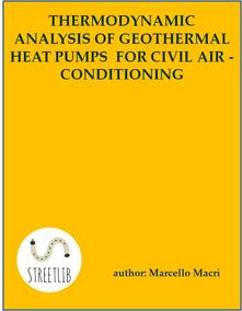 Thermodinamic and economic analysis of geothermal heat pumps for civil air-conditioning