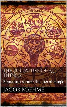 Thesignature of all things