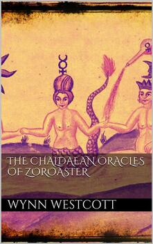 Thechaldæan oracles of Zoroaster