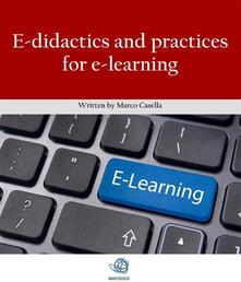E-didactics and practices for e-learning
