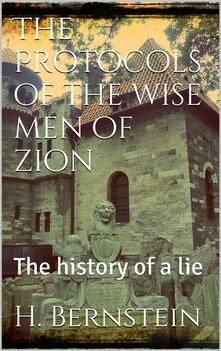 Theprotocols of the wise men of Zion