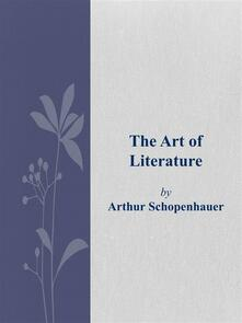 Theart of literature