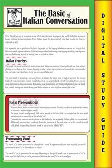 Italian conversation. Blokehead easy study guide