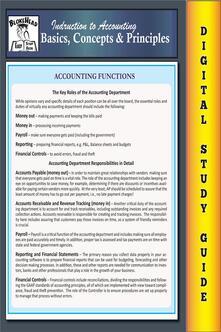 Accounting basics, concepts & principles. Blokehead easy study guide