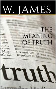 Themeaning of truth