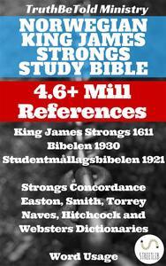 Norwegian King James Strongs Study Bible