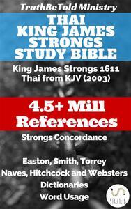 Thai King James Strongs Study Bible