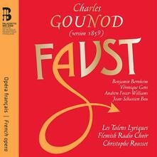 Faust - Libro + CD Audio di Charles Gounod,Veronique Gens,Christophe Rousset,Les Talens Lyriques,Benjamin Bernheim,Andrew Foster-Williams,Jean-Sébastien Bou,Flemish Radio Choir