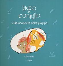 Listadelpopolo.it Alla scoperta della pioggia. Riccio e Coniglio. Ediz. a colori Image