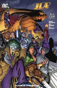 Rinascita. Justice League America. Vol. 7 - copertina