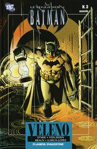 Veleno. Leggende di Batman. Vol. 3 - copertina