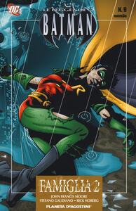 Famiglia, parte 2. Leggende di Batman. Vol. 9 - John Francis Moore,Stefano Gaudiano,Rick Hoberg - copertina