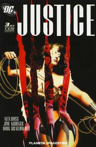 Justice. Vol. 3 - Alex Ross,Jim Krueger,Dougie Braithwaite - copertina