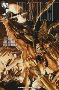 Justice. Vol. 4 - Alex Ross,Jim Krueger,Dougie Braithwaite - copertina