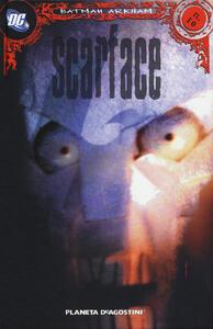 Scarface. Batman Arkham. Vol. 10 - copertina