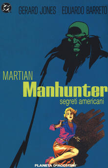 Warholgenova.it Segreti americani. Martian Manhunter Image