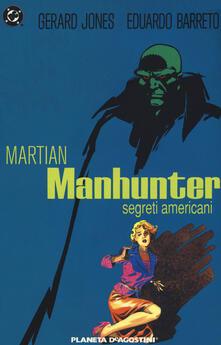 Promoartpalermo.it Segreti americani. Martian Manhunter Image