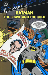 Batman. The brave and the bold. Classici DC. Vol. 4 - copertina