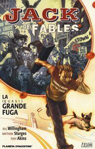 Foto Cover di La (quasi) grande fuga. Jack of fables. Vol. 1, Libro di AA.VV edito da Lion