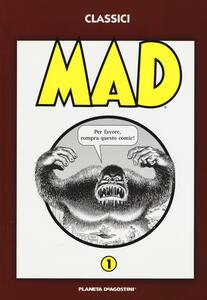 MAD. Vol. 1 - copertina
