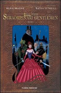 La lega degli straordinari Gentlemen. Vol. 1 - Alan Moore,Kevin O'Neill - copertina