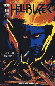 Hellblazer. Vol. 12 - Garth Ennis,Will Simpson - copertina